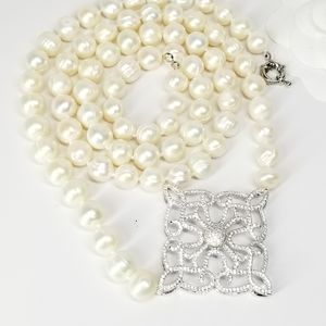 Genuine Natural Freshwater Baroque Pearls Necklace